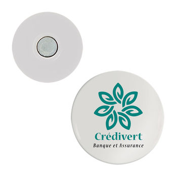 Badge textile rond 58 mm