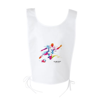 Chasuble de sport Polyester Blanc