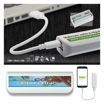 Power Bank (batterie de secours) 2200 mAh